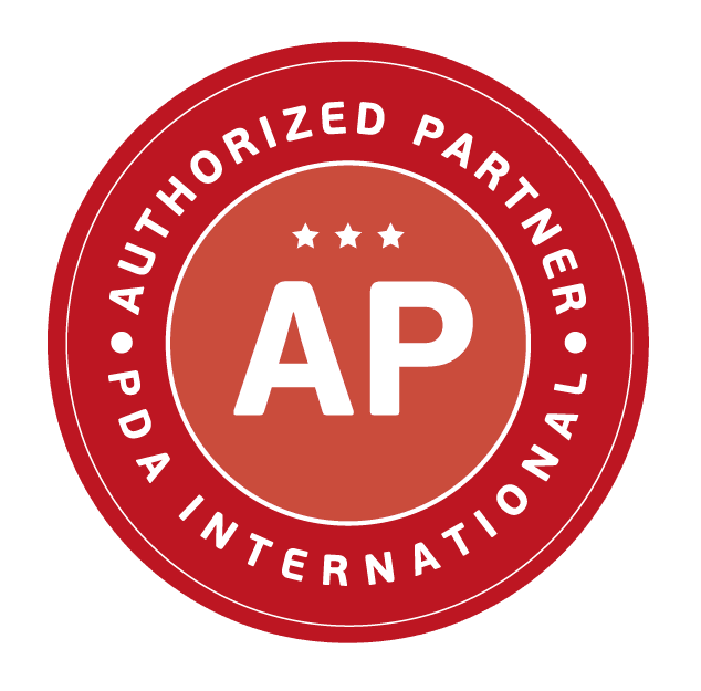 Símbolo de Partner Autorizado da PDA (Personnel Development Analysis)  International